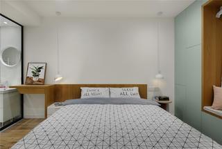129平米三居卧室装修效果图