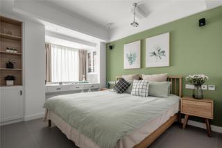 80㎡北欧风格卧室装修效果图