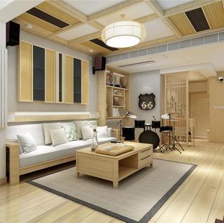 日式原木风装修效果图