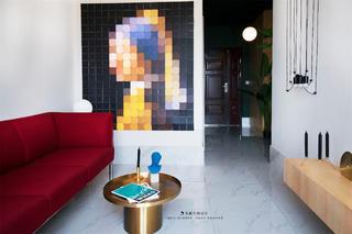 一居室小户型公寓客厅装修效果图