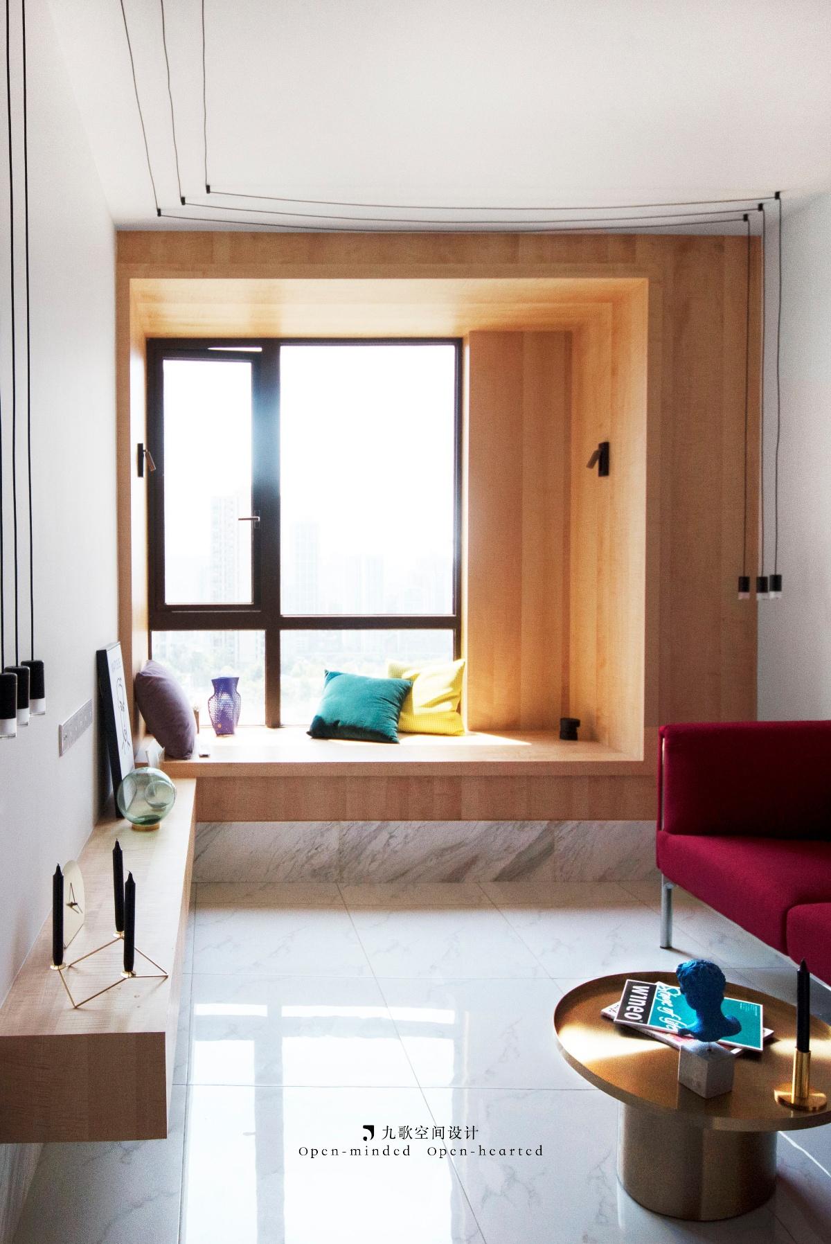 一居室小户型公寓飘窗装修效果图