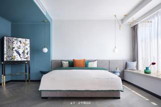 大户型混搭风格卧室装修效果图