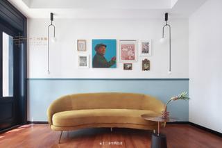 大户型混搭风格装修沙发设计图