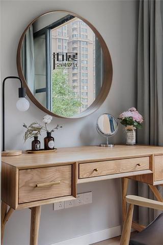 北欧风格两居室装修梳妆台设计