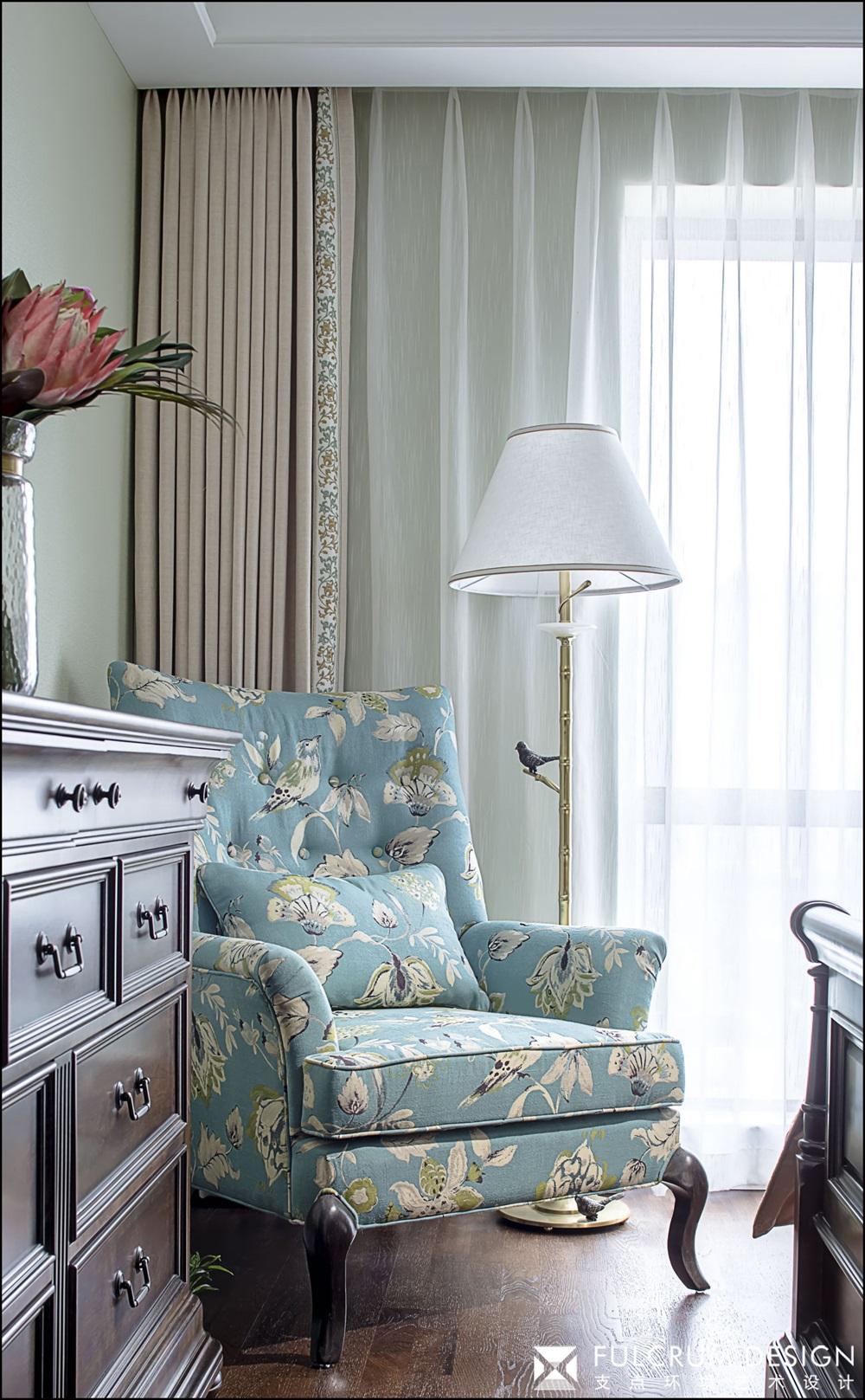 三居室美式风格装修沙发椅设计