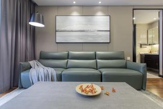 三居室现代简约风格沙发背景墙装修效果图