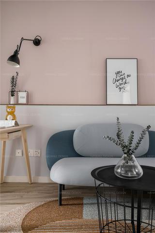 54平米一居室装修沙发设计图