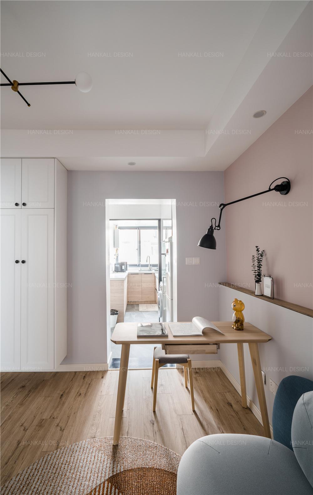 54平米一居室餐厅装修效果图
