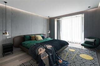 300㎡复式公寓卧室装修效果图