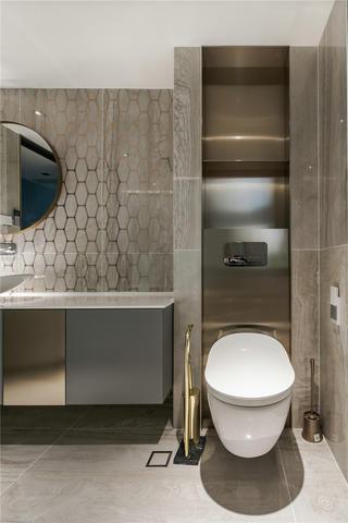 300㎡复式公寓卫生间装修效果图