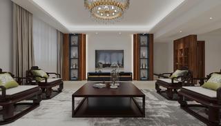 现代中式风格客厅每日首存送20