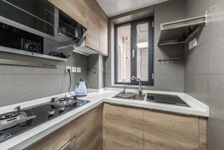 85㎡两居室厨房装修效果图