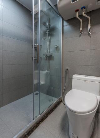 85㎡两居室卫生间装修效果图