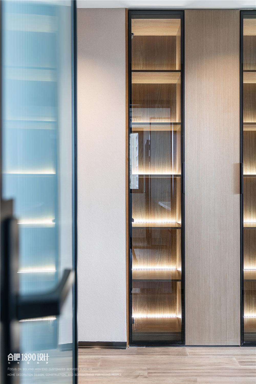 180㎡现代简约风格收纳展示柜装修效果图