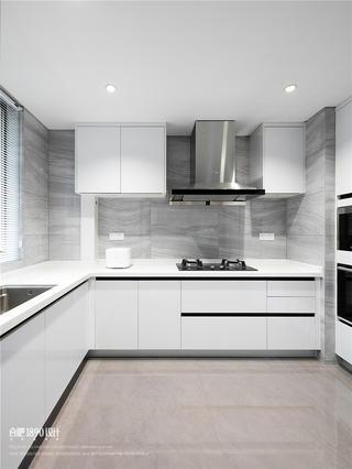 180㎡现代简约风格厨房装修效果图
