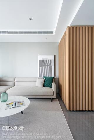 180㎡现代简约风格装修沙发一角