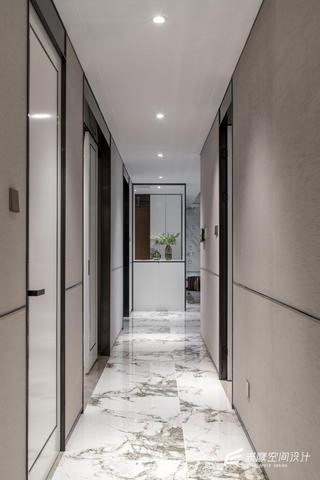 大户型现代简约走廊装修效果图