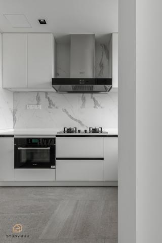 极简风格三居厨房装修效果图