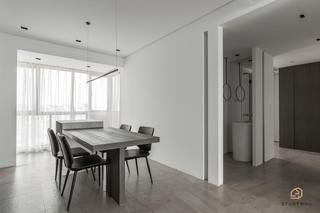 极简风格三居餐厅装修效果图