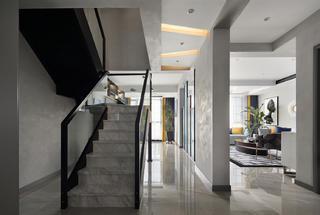 220㎡复式现代楼梯装修效果图