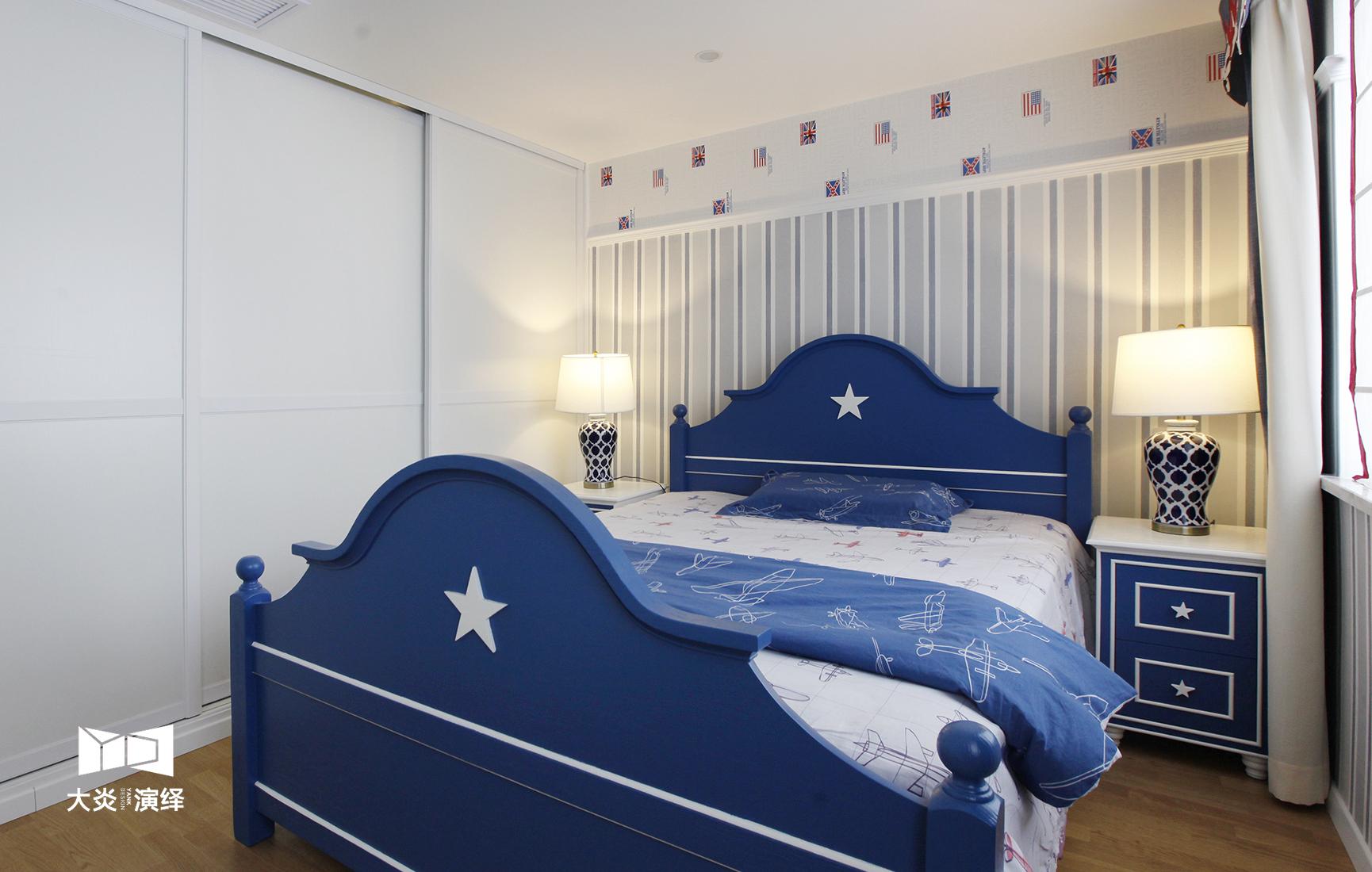 大户型简美风格儿童房装修效果图
