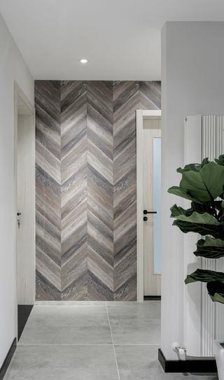 110㎡现代两居室地板墙装修效果图