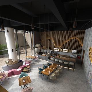 工业风格咖啡厅每日首存送20