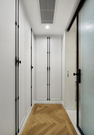 180平米极简风装修衣柜设计图