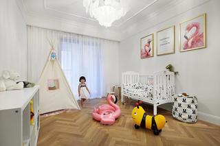 180平米极简风儿童房装修效果图