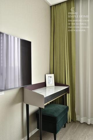 现代风格三居室装修梳妆台设计图