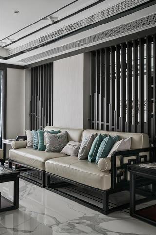 现代中式风别墅装修沙发设计图