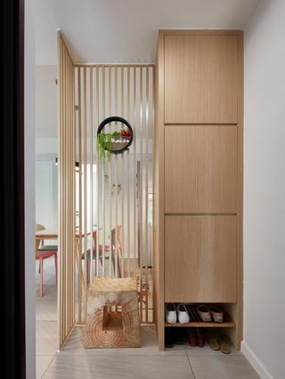 北欧风格二居室玄关装修效果图