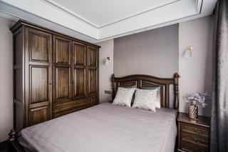135㎡美式风格卧室装修效果图
