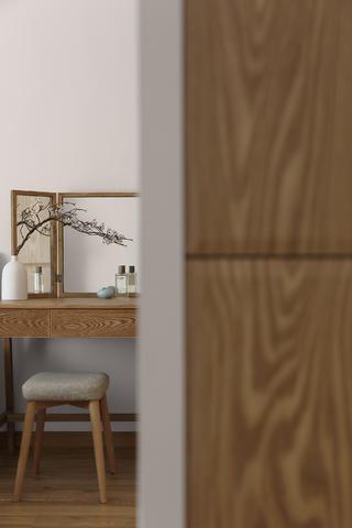 新中式风格三居装修梳妆台设计图