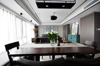 138㎡新中式风格餐厅装修效果图