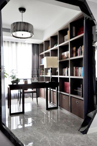 138㎡新中式风格书房装修效果图
