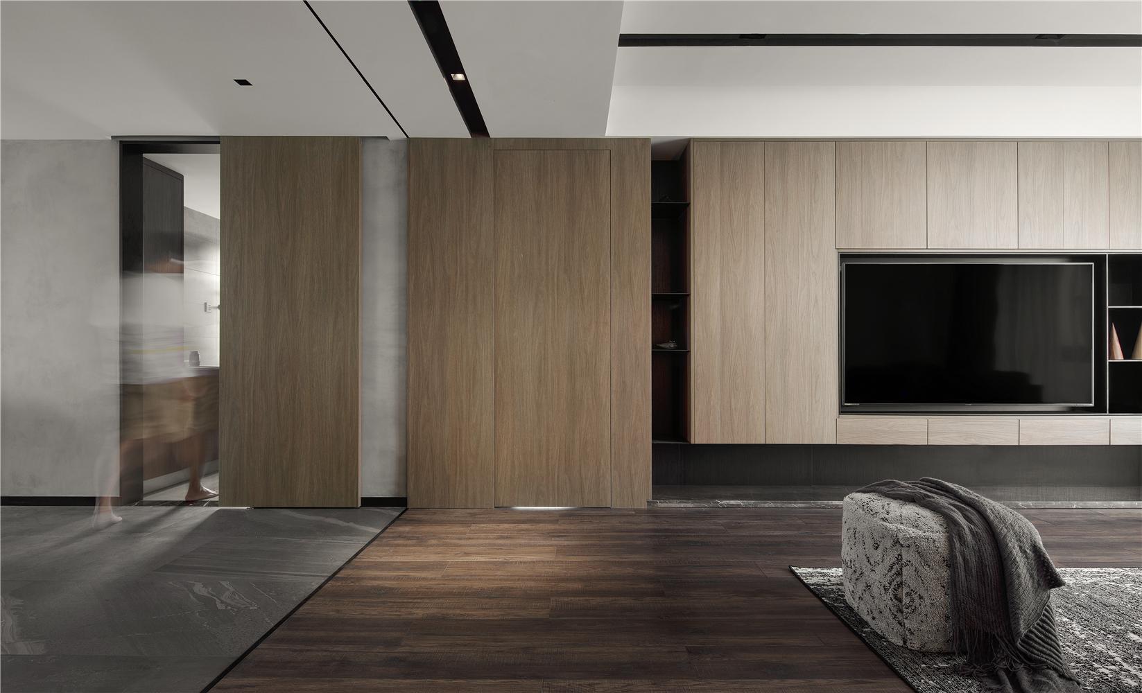 156㎡现代风格电视墙装修效果图