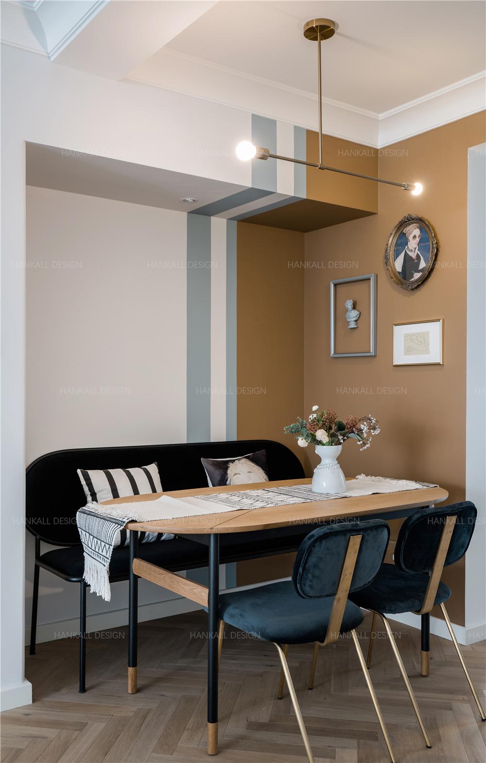 90平米二居室餐厅装修效果图