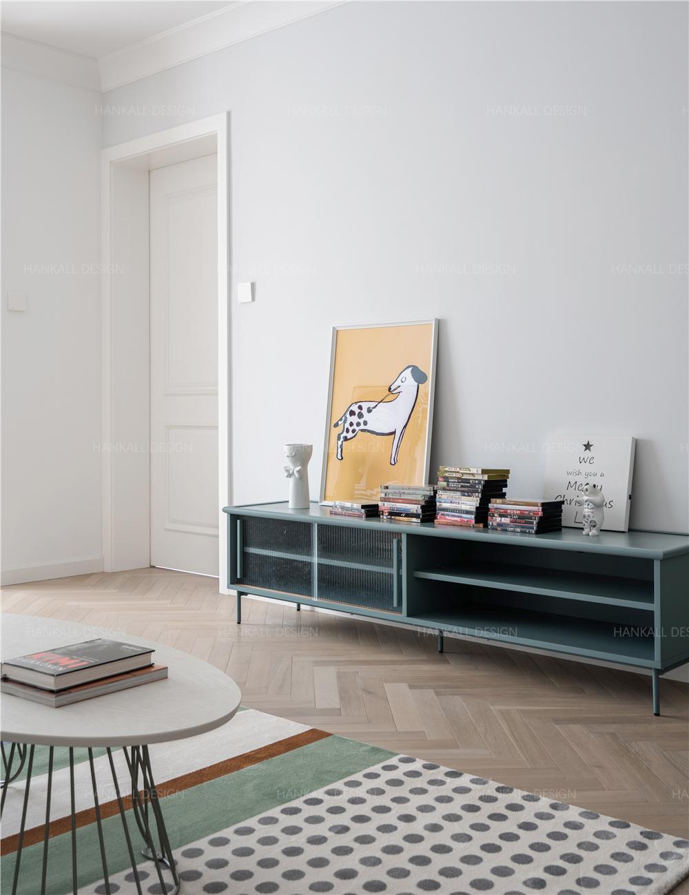 90平米二居室装修电视柜设计图
