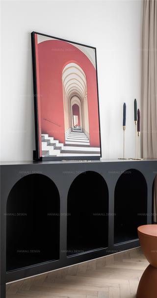90平米二居室装修储物柜设计