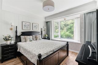 160㎡复式美式风卧室装修效果图