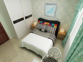 大户型美式风格卧室每日首存送20