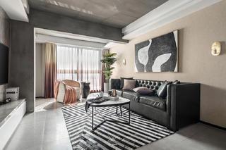 混搭风格三居客厅装修效果图