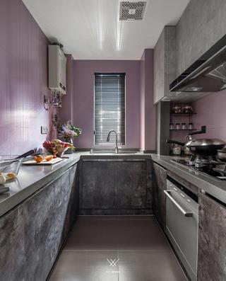 混搭风格三居厨房每日首存送20