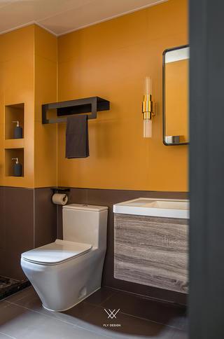 混搭风格三居卫生间装修效果图