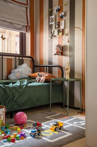 混搭风格三居儿童房装修效果图