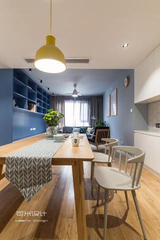 107平北欧风格装修餐桌椅设计图