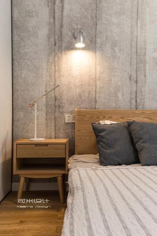 107平北欧风格装修床头柜设计图