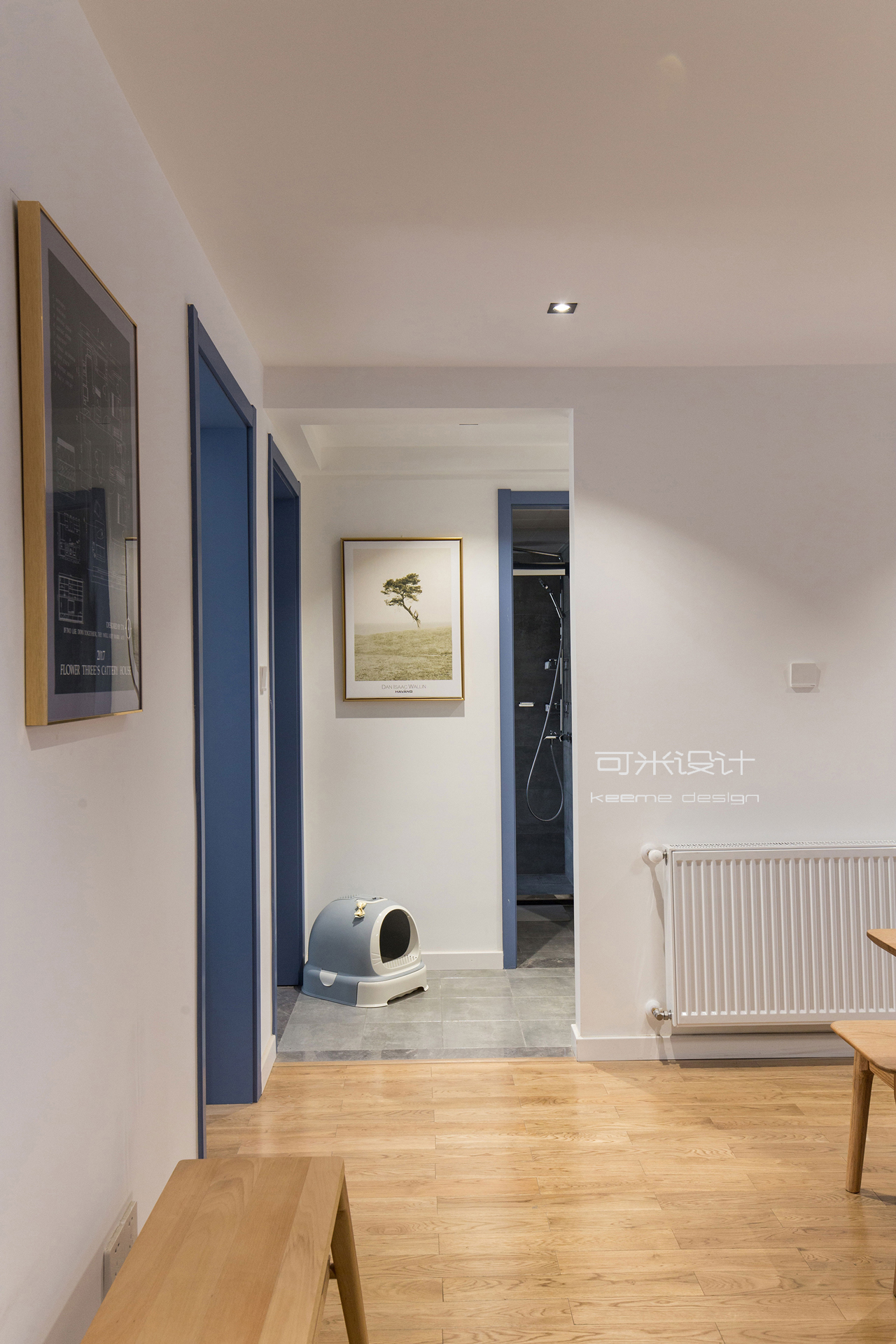 107平北欧风格走廊装修效果图