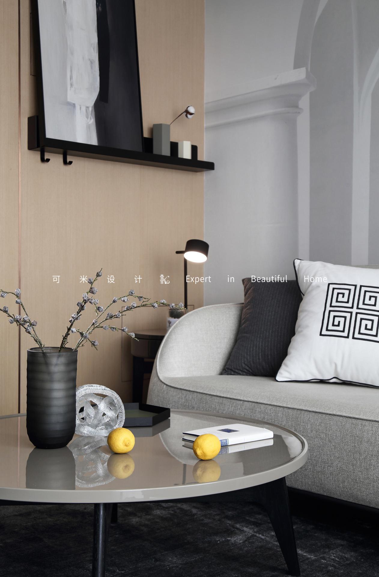 85平二居室装修茶几设计图
